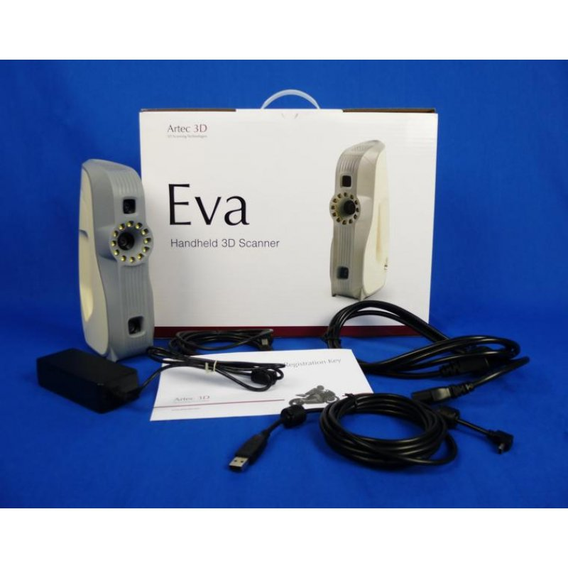 Rent 3D scanner ARTEC EVA