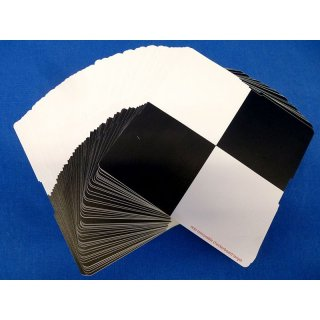 Set of 50 checkerboard stickers (highly adhesive)