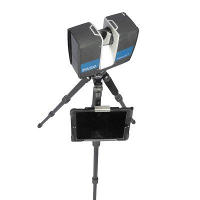 Tablet holder for tripod