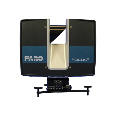 Ground-level tripod for FARO with LSE quick release