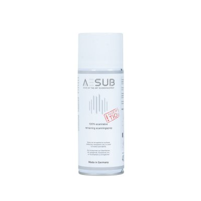AESUB white – Anti-reflective spray for 3D laser scanning