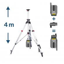 2-Way Telescope Tripod with 3D Safety Adapter for Trimble X7