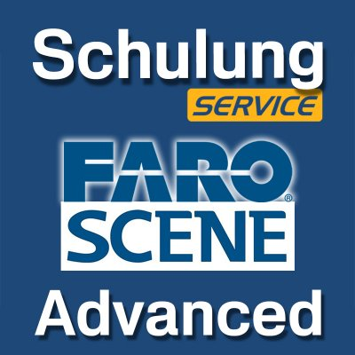 FARO Scene training for advanced users