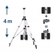2-Way Telescope Tripod with 3D Safety Adapter