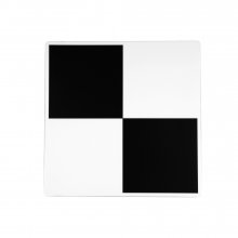5 magnetic checkerboard targets as a set